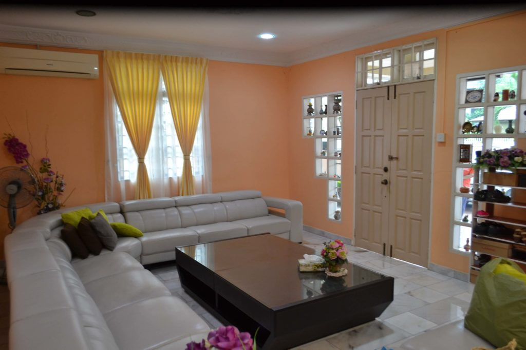 living-room-with-sofa-and-yellow-curtain
