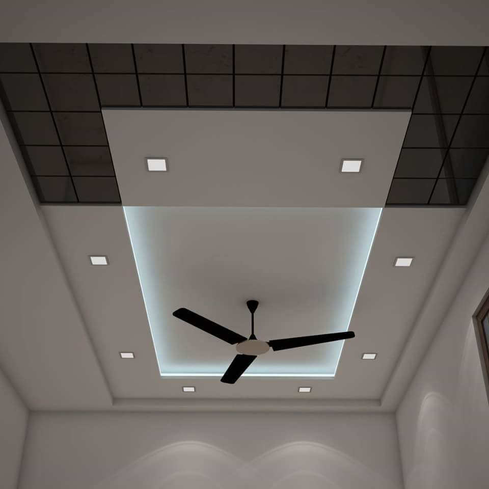 plaster-ceiling-with-fan